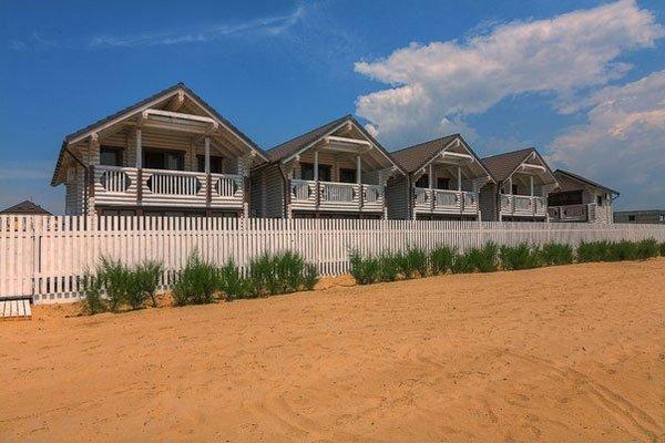 отель Белый пляж Джемете Анапа