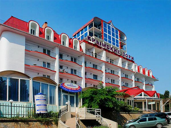 Пансионат «Крымские Зори Алушта - дом отдыха на берегу черного моря 37