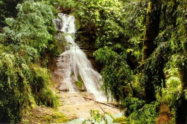 Водопад поселок лазаревское г сочи